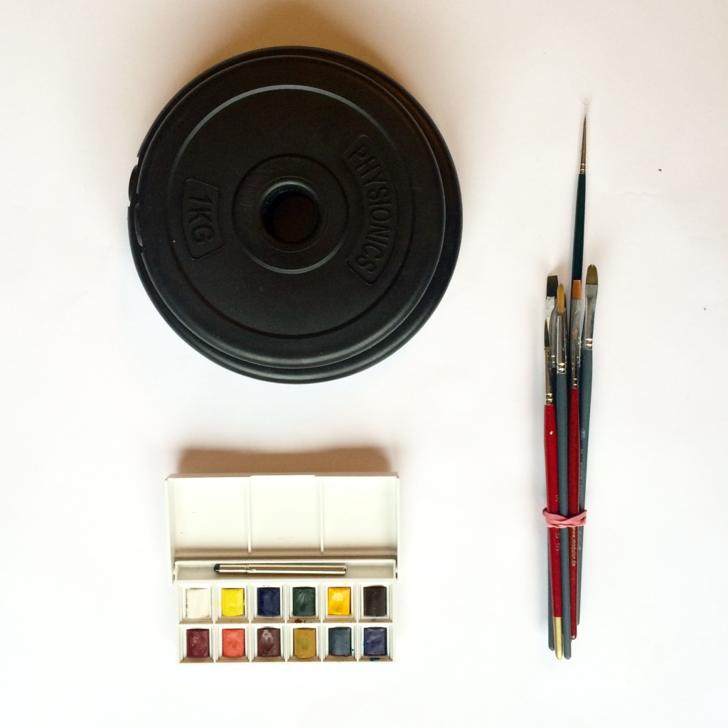 Weights and winsor and newton watercolour paints
